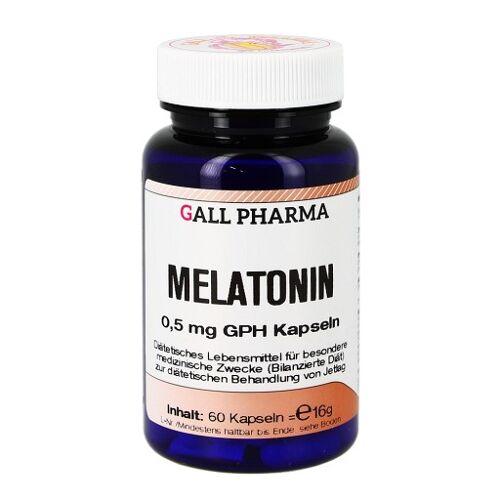 MELATONIN 0,5 mg GPH Kapseln 60 St