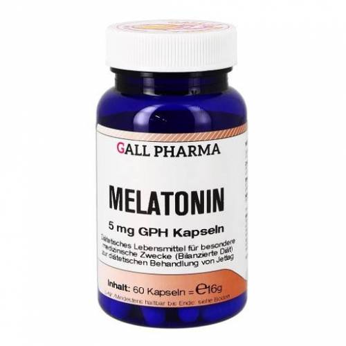 MELATONIN 5 mg GPH Kapseln 60 St