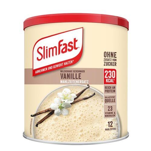 SLIM FAST Pulver Vanille 438 g