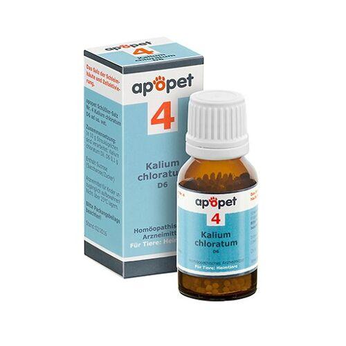 APOPET Schüßler-Salz Nr.4 Kalium chlor.D 6 vet. 12 g