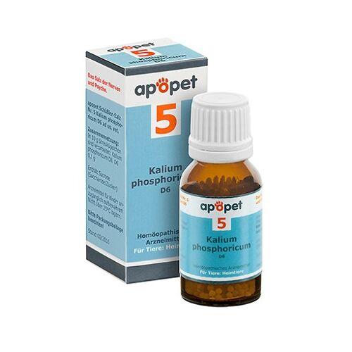 APOPET Schüßler-Salz Nr.5 Kalium phos.D 6 vet. 12 g