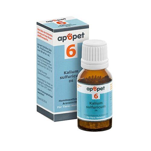 APOPET Schüßler-Salz Nr.6 Kalium sulf.D 6 vet. 12 g