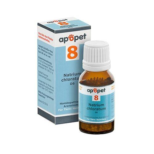 APOPET Schüßler-Salz Nr.8 Natrium chlor.D 6 vet. 12 g