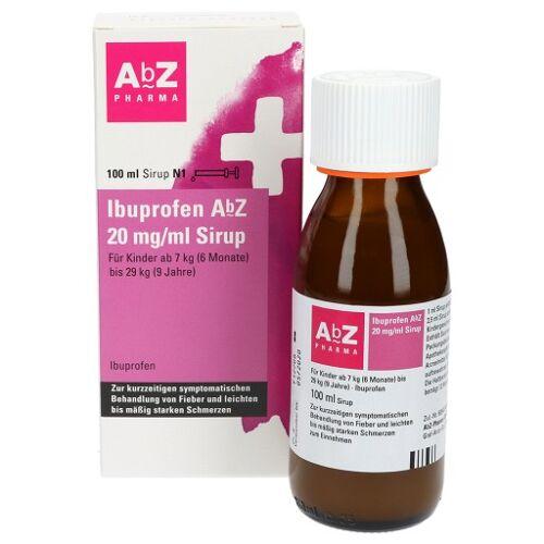 IBUPROFEN AbZ 20 mg/ml Sirup 100 ml