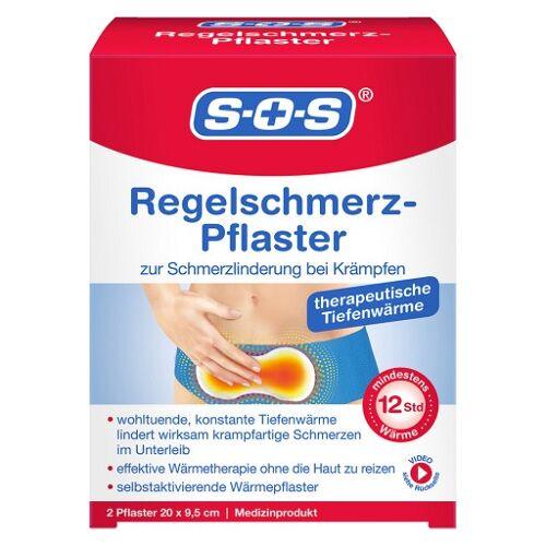 SOS REGELSCHMERZ-Pflaster 2 St