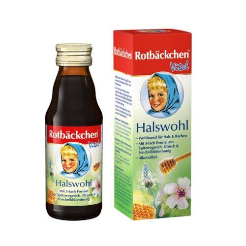 RABENHORST Rotbäckchen Vital Halswohl Saft 125 ml
