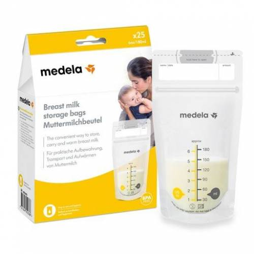 MEDELA Muttermilch Aufbewahrungsbeutel 25 St