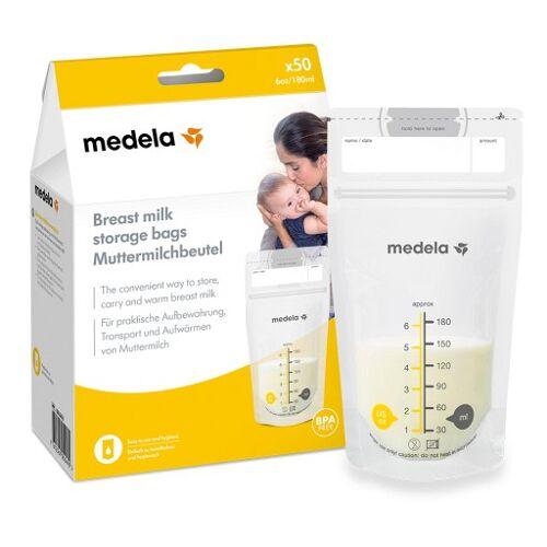 MEDELA Muttermilch Aufbewahrungsbeutel 50 St