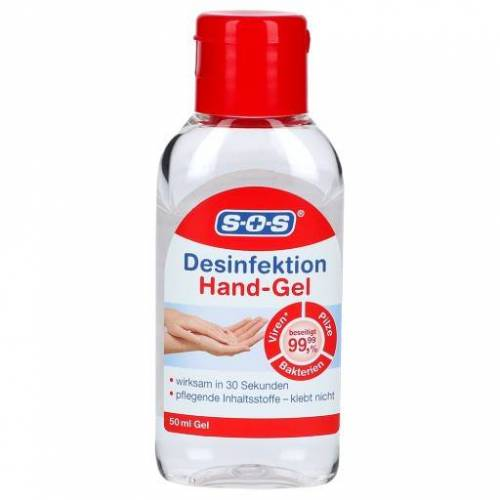 SOS DESINFEKTION Hand-Gel 50 ml