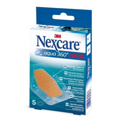 NEXCARE Aqua 360° Pflaster maxi 5 St