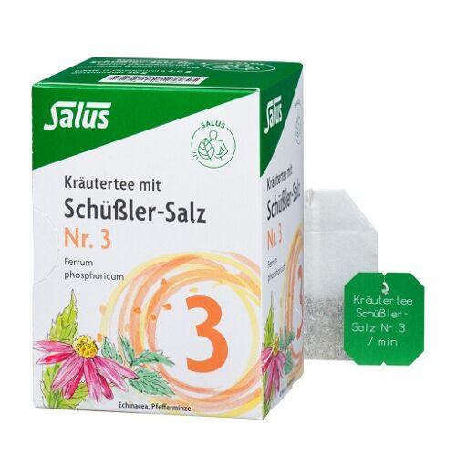 KRÄUTERTEE mit Schüssler-Salz Nr.3 Salus Fbtl. 15 St