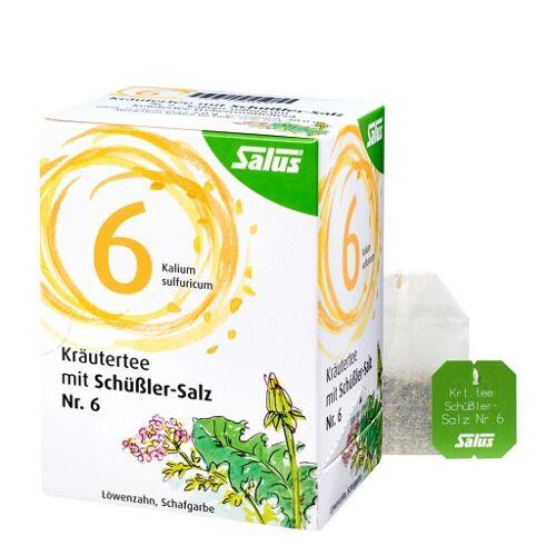 KRÄUTERTEE mit Schüssler-Salz Nr.6 Salus Fbtl. 15 St