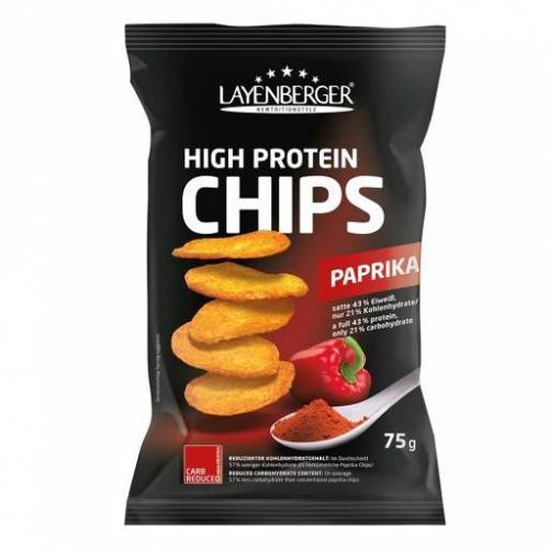 LOWCARB.ONE High Protein Chips Paprika 75 g