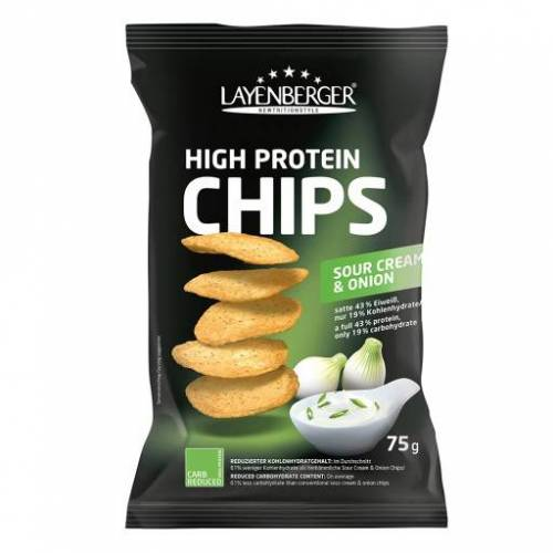 LOWCARB.ONE High Protein Chips Sour Cream & Onion 75 g