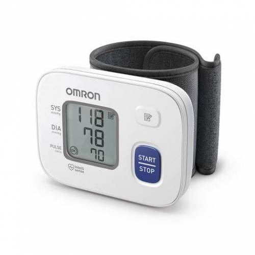 OMRON RS2 Handgelenk Blutdruckmessgerät HEM-6161-D 1 St