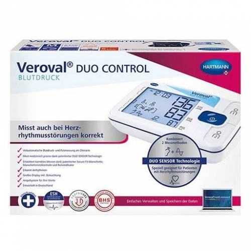 DUO VEROVAL duo control OA-Blutdruckmessgerät large 1 St