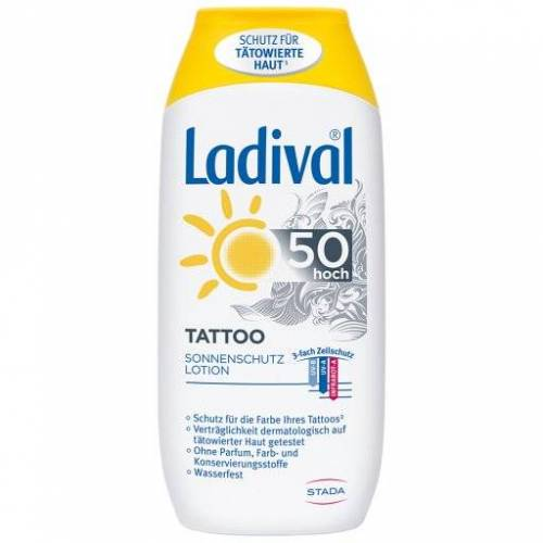 LADIVAL Tattoo Sonnenschutz Lotion LSF 50 200 ml
