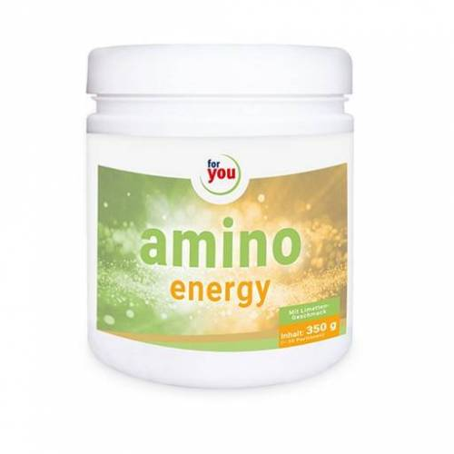 FOR YOU amino energy Limette Pulver 350 g