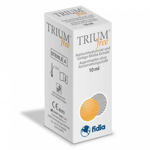 TRIUM free Augentropfen 10 ml