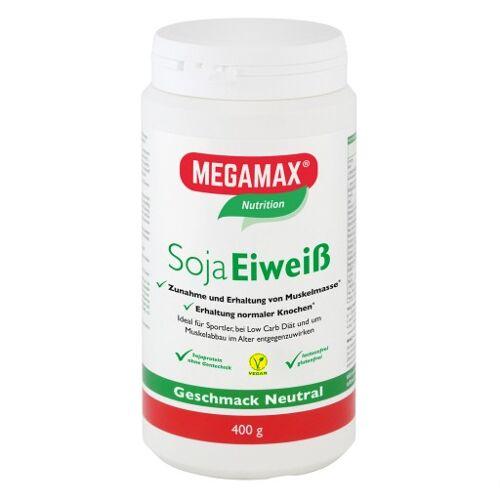 MEGAMAX Soja Eiweiß neutral Pulver 400 g
