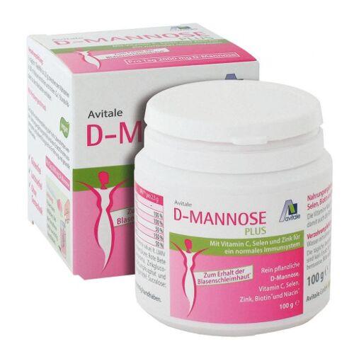 D-MANNOSE PLUS 2000 mg Pulver m.Vit.u.Mineralstof. 100 g