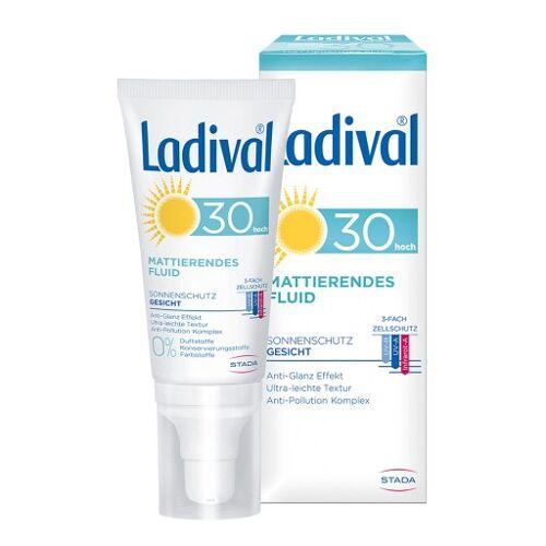 LADIVAL Sonnenschutz Gesicht Fluid matt.LSF 30 50 ml