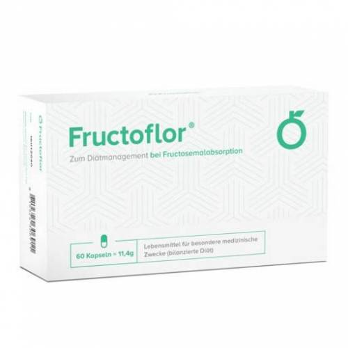 FRUCTOFLOR Fructose Intoleranz & Malabsorption Kps 60 St
