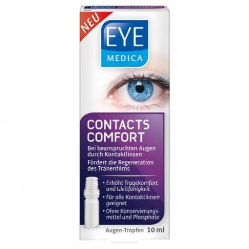 EYEMEDICA Contacts Comfort Kontaktlinsen Augentr. 10 ml