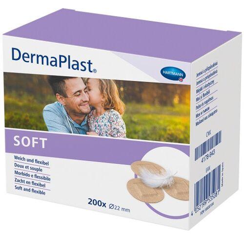 DERMAPLAST SOFT Spots Pflaster rund 22 mm 200 St