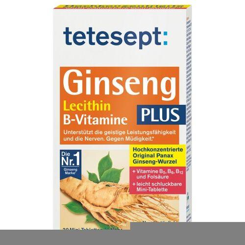 TETESEPT Ginseng 330 plus Lecithin+B-Vitamine Tab. 30 St