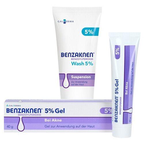 BENZAKNEN WASH 5% + BENZAKNEN 5% Gel 100+50 g