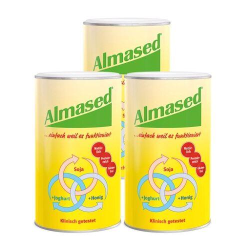 ALMASED Vitalkost Pflanzen K Pulver 3X500 g