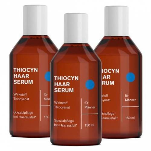 Thiocyn Haarserum Maenner 3er-Set 3X150 ml