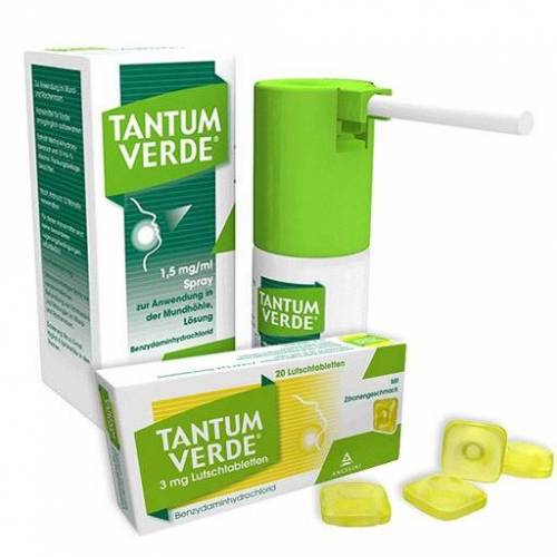 Tantum Verde 1.5mg/ml + Tantum Verde 3mg Zitrone SET St