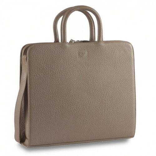 VOI Hirsch Ordner Tasche A4 10517-taupe