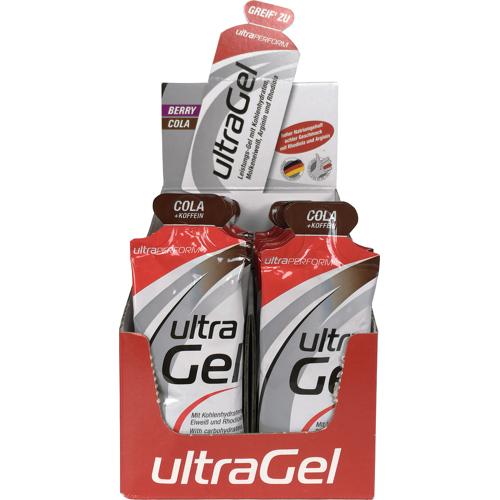 Ultra Sports 24 x ultraSPORTS ultraGel - Cola + Koffein