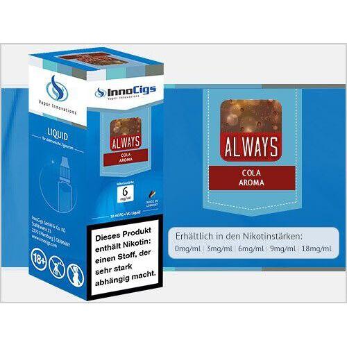 Innocigs Liquid - Always Cola Aroma - 0 mg/ml