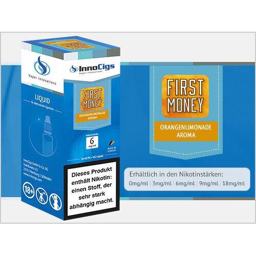 Innocigs Liquid - First Money Orangenlimonade Aroma - 3 mg