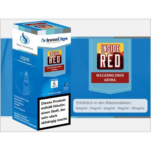 Innocigs Liquid - Inside Red Wassermelonen Aroma - 3 mg/ml