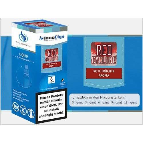 Innocigs Liquid - Red Cyclone Rote Früchte Aroma - 18 mg/m