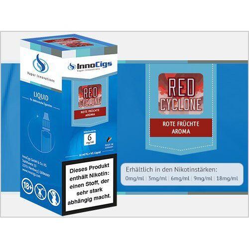 Innocigs Liquid - Red Cyclone Rote Früchte Aroma - 6 mg/ml