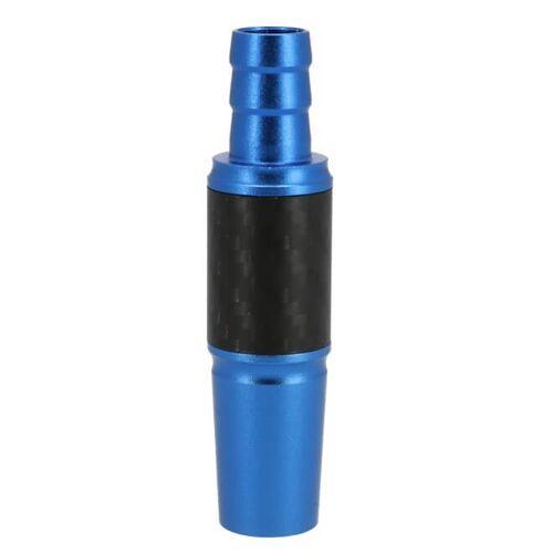 Rio INVI Schlauchanschluss Alu-Carbon 18/8er  Blau