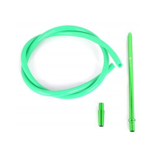 Shisha Schlauchset Glänzend  Grün