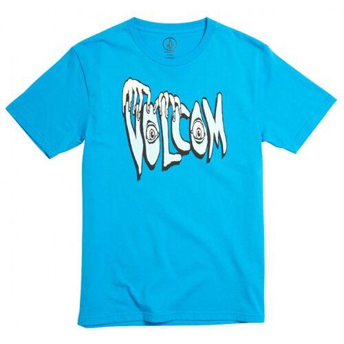 Volcom - Kid's Volcom Panic Bsc S/S - T-Shirt Gr XL türkis/blau