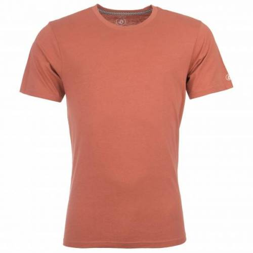 Volcom - Solid S/S Tee - T-Shirt Gr S rot