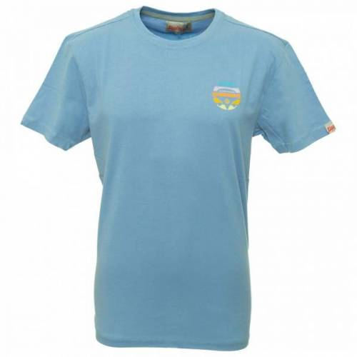 Van One - Bulli Face Retro Shirt - T-Shirt Gr S grau/blau