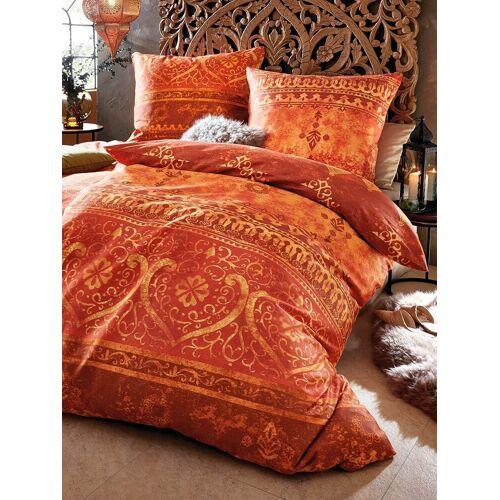 Casatex 2-teilige Bettwäsche-Garnitur Casatex orange