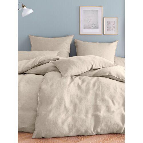 Proflax Bettbezug ca. 135x200cm Proflax beige