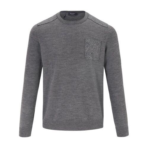 MAERZ Muenchen Rundhals-Pullover MAERZ Muenchen grau
