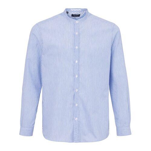 MAERZ Muenchen Hemd Stehkragen MAERZ Muenchen blau